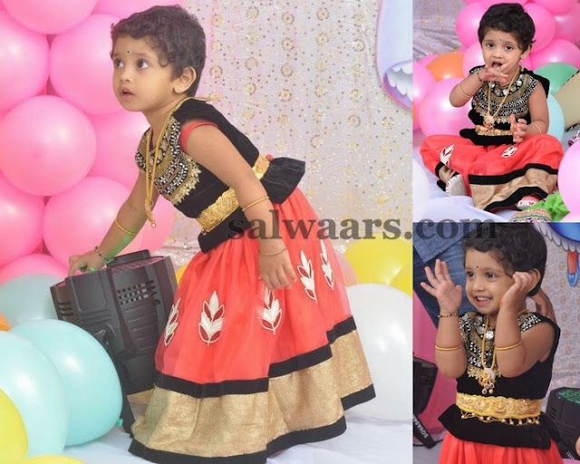 Little Cutie in Our Designer Lehenga