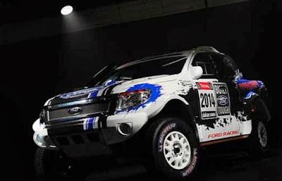 Modified Ford Ranger 2014 Dakar Rally Version