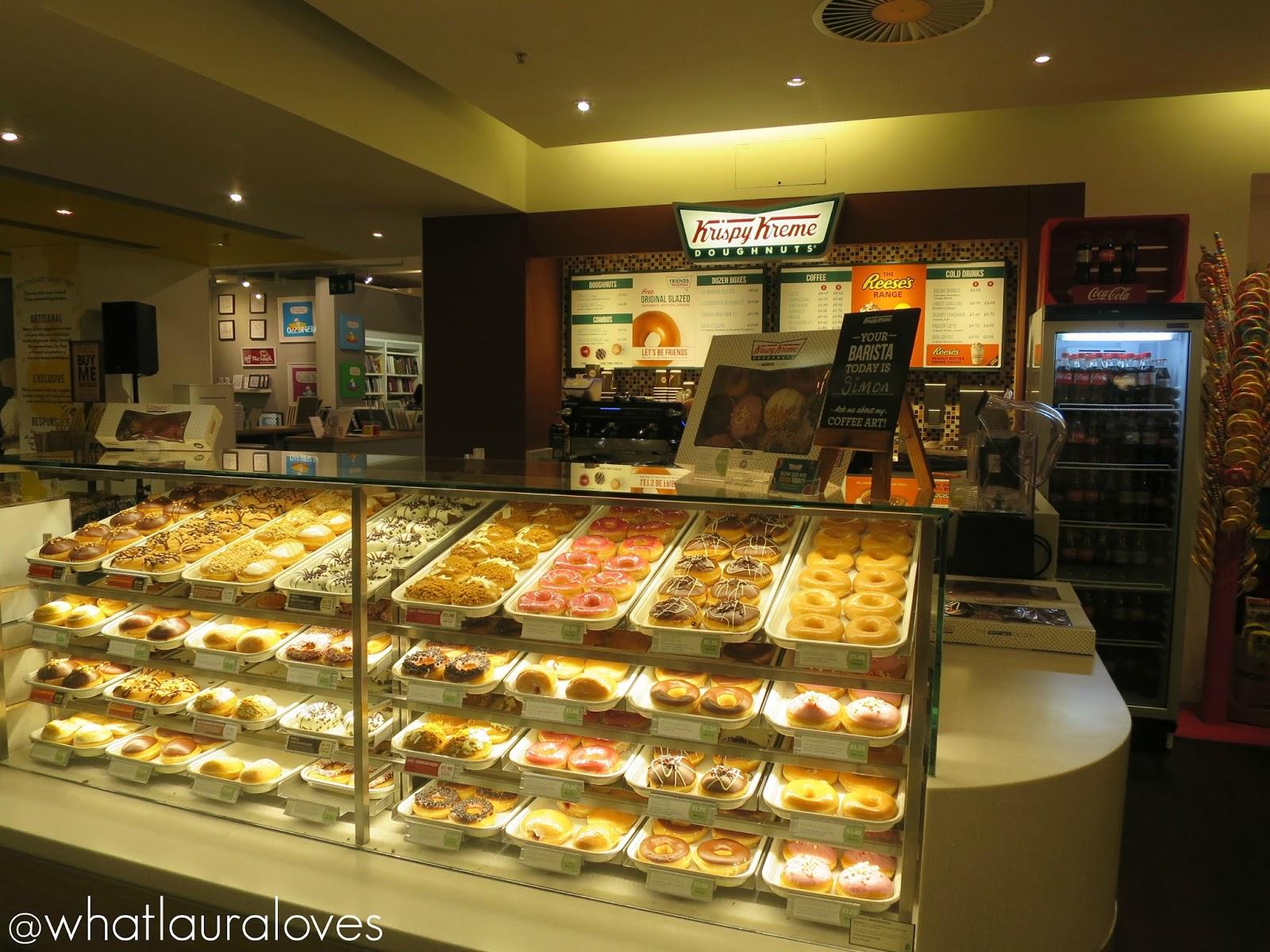 Selfridges Trafford Centre Foodhall Event Krispy Kreme