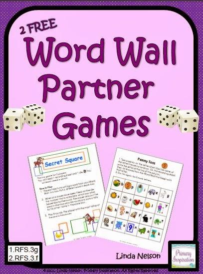 http://www.teacherspayteachers.com/Product/Partner-Games-for-Your-Class-Word-Wall-150781
