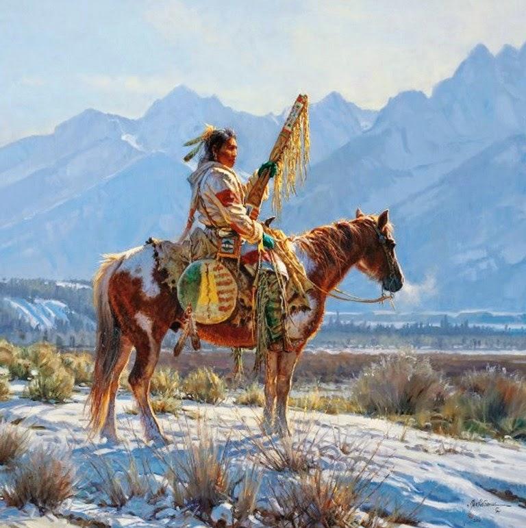 caballos-con-indios-en-paisajes