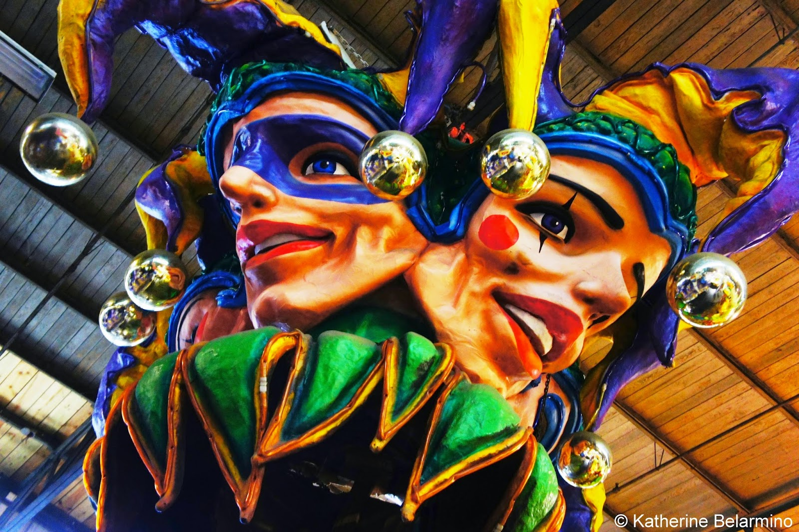 Props Jesters Mardi Gras World New Orleans