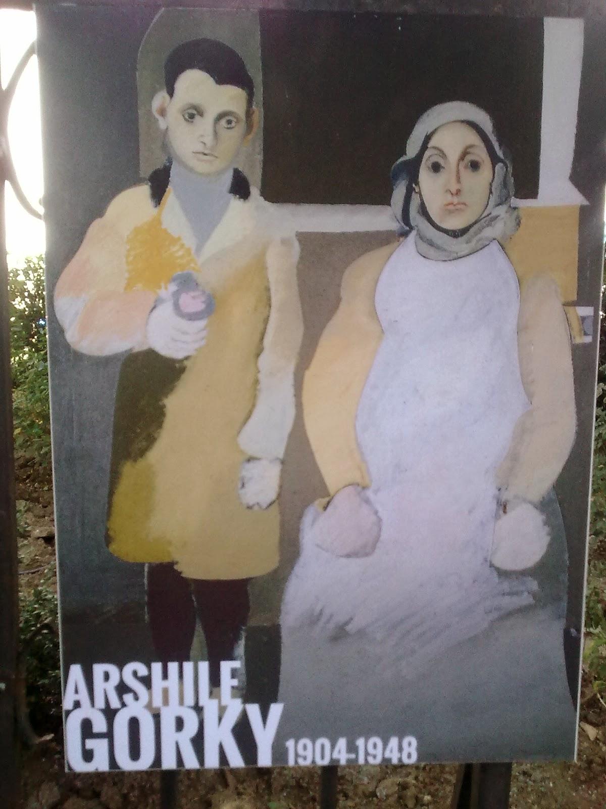 """lucrare a pictorului armean expusă la festivalul """"Strada Armenească"""""""