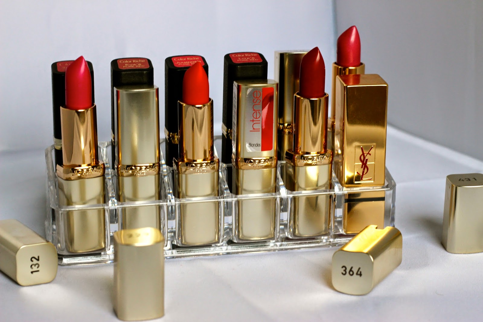 L'oreal lipstick collection