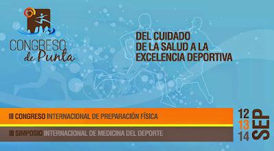 Congreso de Punta - Medicina, preparación física y deporte (Punta del Este, 12-14/sep/2014)