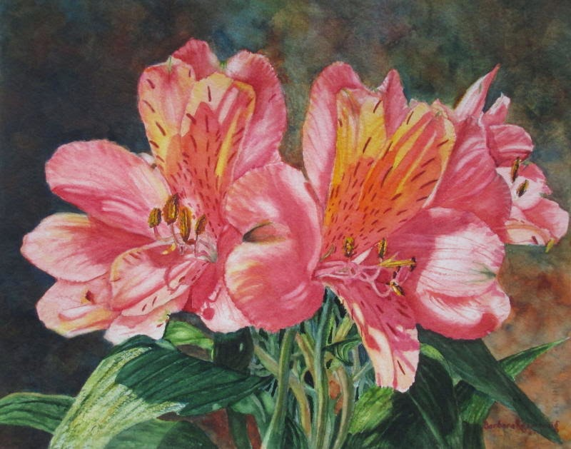 https://www.etsy.com/listing/215776678/pink-alstroemeria-lily-flower-painting?