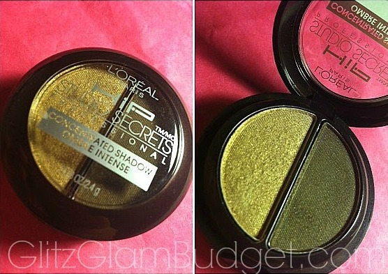 L'oreal HIP Studio Secrets Professional Concentrated Duo Shadow