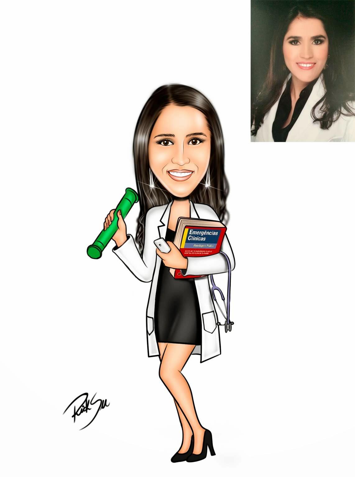 desenho de medicina