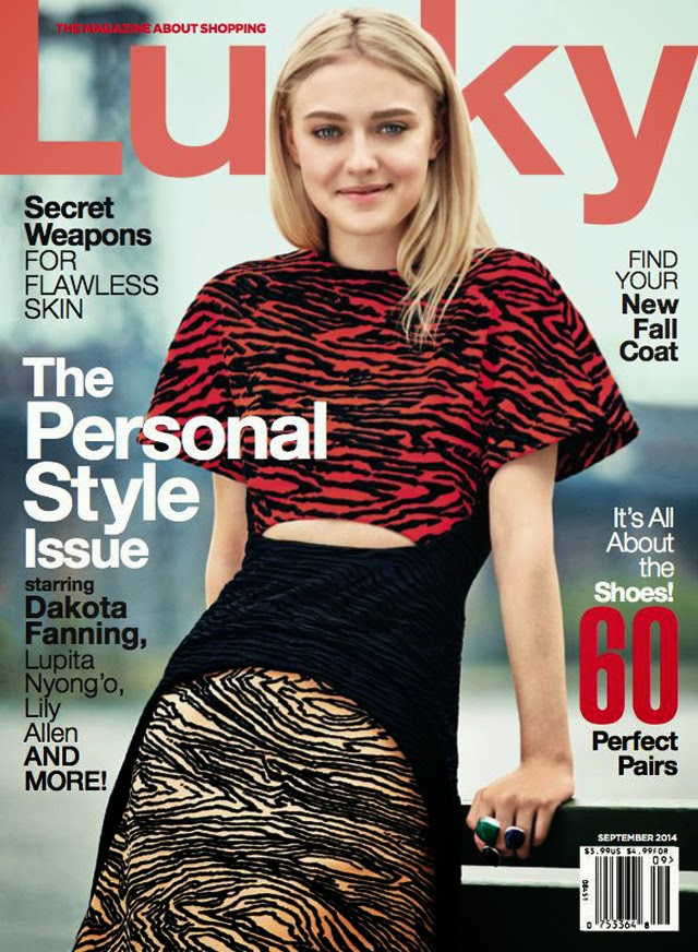 Dakota Fanning Lucky Magazine