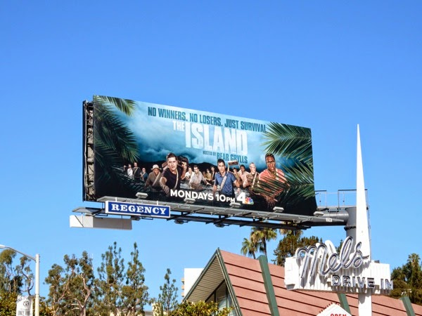 The Island season 1 billboard