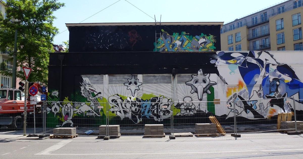 streetart und urbane kommunikation in m nchen nachruf abriss art babel. Black Bedroom Furniture Sets. Home Design Ideas