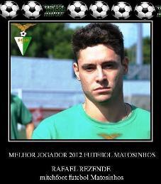 Melhor jogador de 2012 eleito pelos leitores do blog