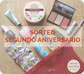 """Sorteo en el blog """"Belleza, Cosmética y Más"""""""