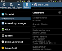 Samsung Galaxy S II Plus 4.2.2 Update Changes