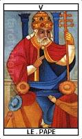 Tarot, El papa