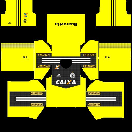 Dream league soccer escudo do flamengo e uniforme - YouTube