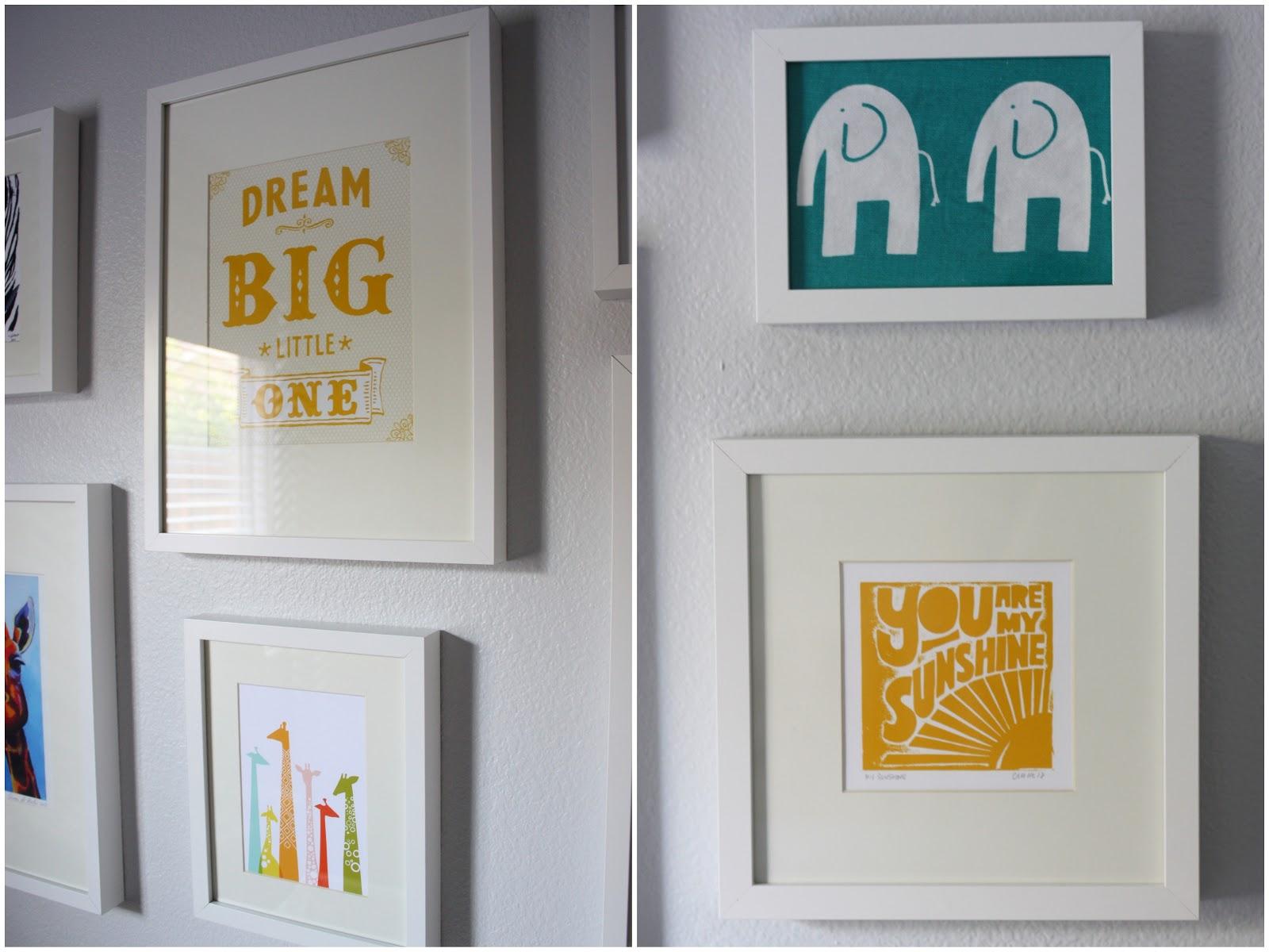 Love life and my journey nursery source list for 5x5 frames ikea