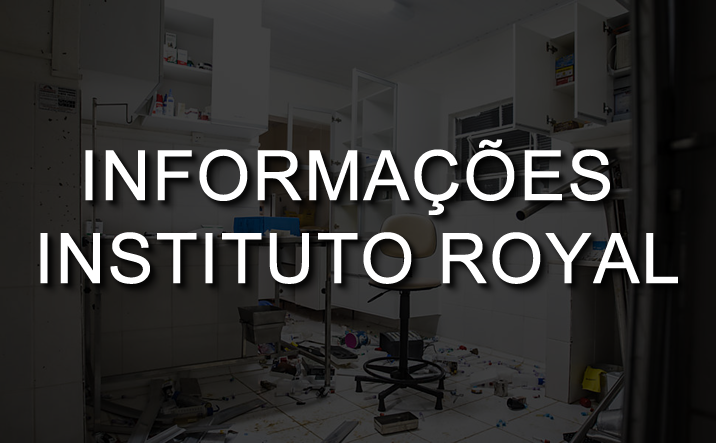 INFORMAÇÕES IMPORTANTES - INSTITUTO ROYAL