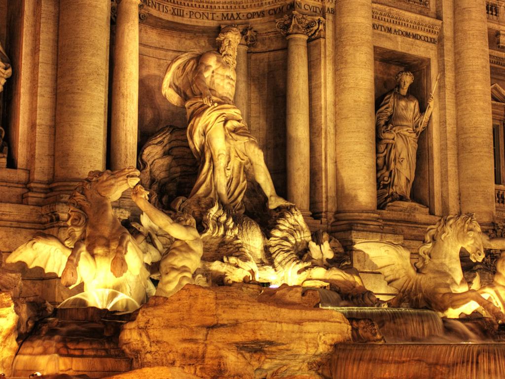 trevi fountain rome italy wallpapers - Trevi Fountain Rome Italy Wallpapers HD Wallpapers