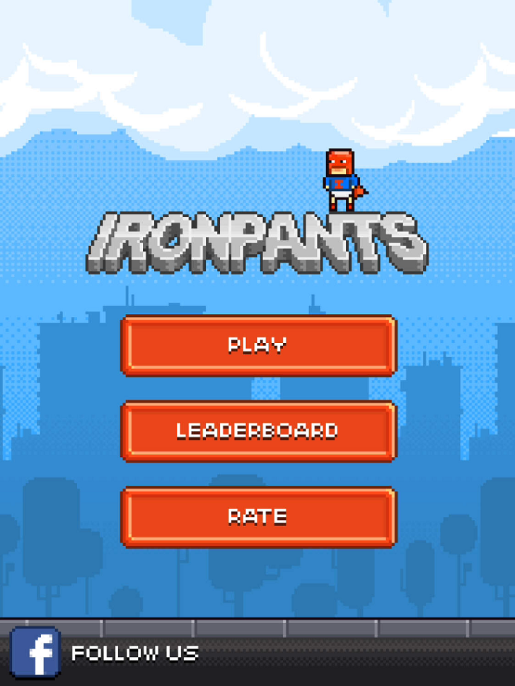 Ironpants Main Game App