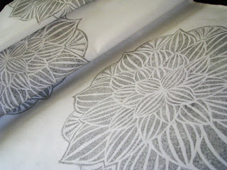 hand printed table runners