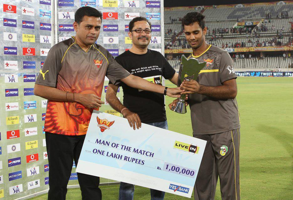 Hanuma-Vihari-man-of-the-match-SRH-vs-KXIP-IPL-2013