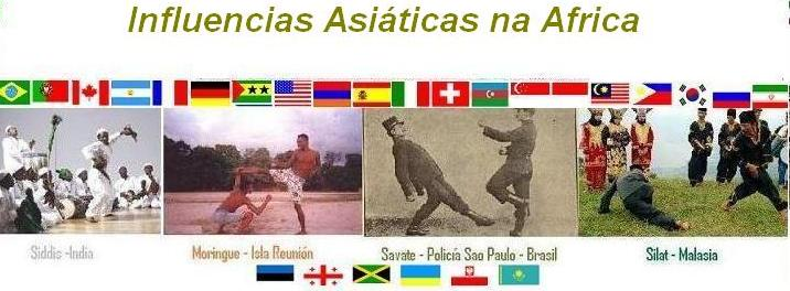 Influencias Asiáticas na África