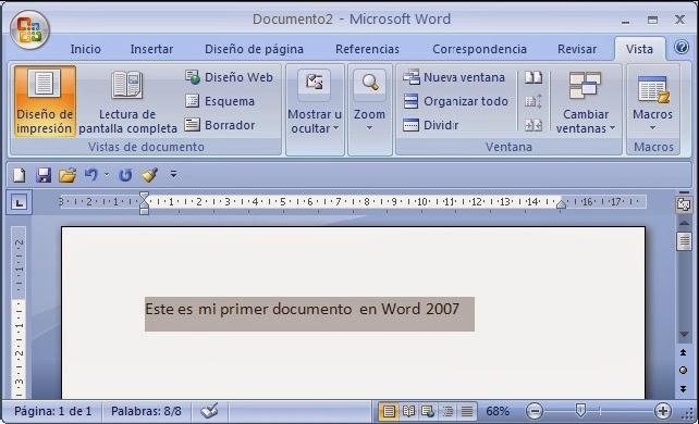 Seleccionar Texto en Word