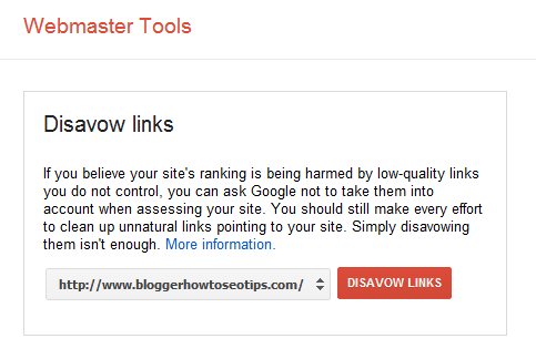 Google Disavow Tool Guide