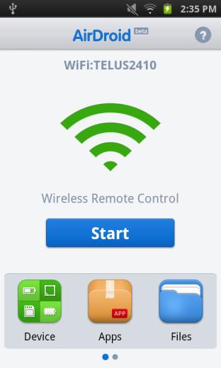 Cara Mengakses Android Menggunakan Web Browser dengan AirDroid