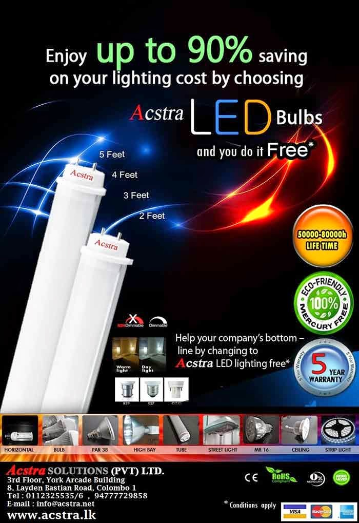 LED light bulbs are becoming a more cost-effective option for lighting a home, office space or factories because of their very long lifetimes (50,000-80,000hrs vs. 1,000-2,000 hrs for incandescents or 10,000-15,000 for CFLs) and increased efficiency.  LED will result in low electricity bills since it operates at about 80% efficiency which is higher than traditional bulbs.