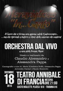 """AL TEATRO ANNIBALE """"MERAVIGLIOSO IN...CANTO"""""""