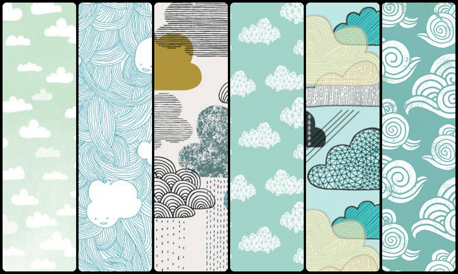 fondos de pantalla nubes whatsapp pattern iphone wallpaper android