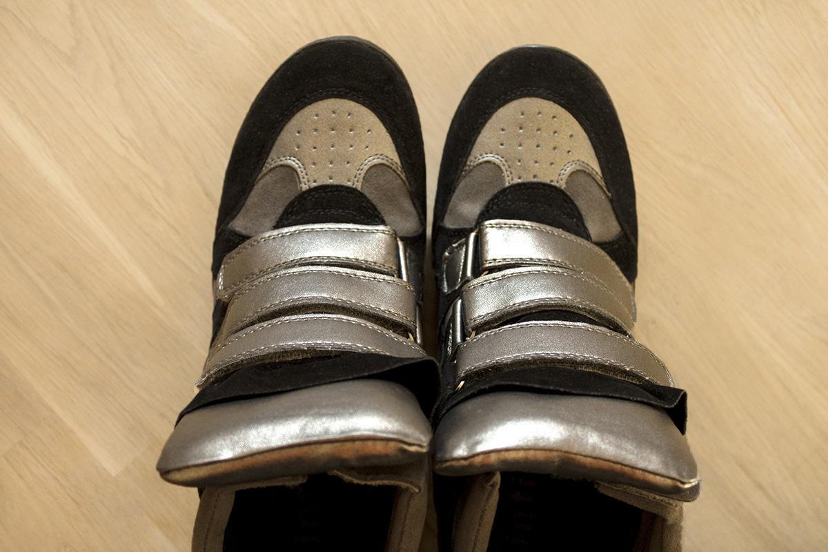 Cinti, wedge sneakers, Italian brand, low cost