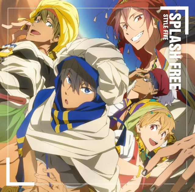 STYLE FIVE Splash Free 歌詞 lyrics cover
