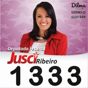 """""""DEPUTADA FEDERAL  JUSCI RIBEIRO POR MT"""""""