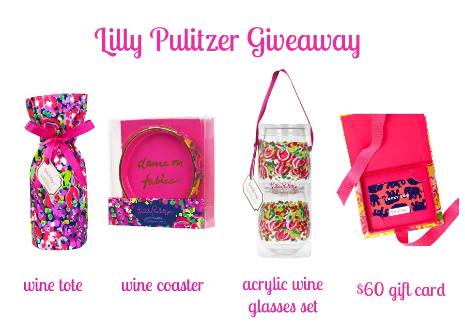 Pink and Fabulous: Giveaway: Lilly Pulitzer Gift Card and Goodies