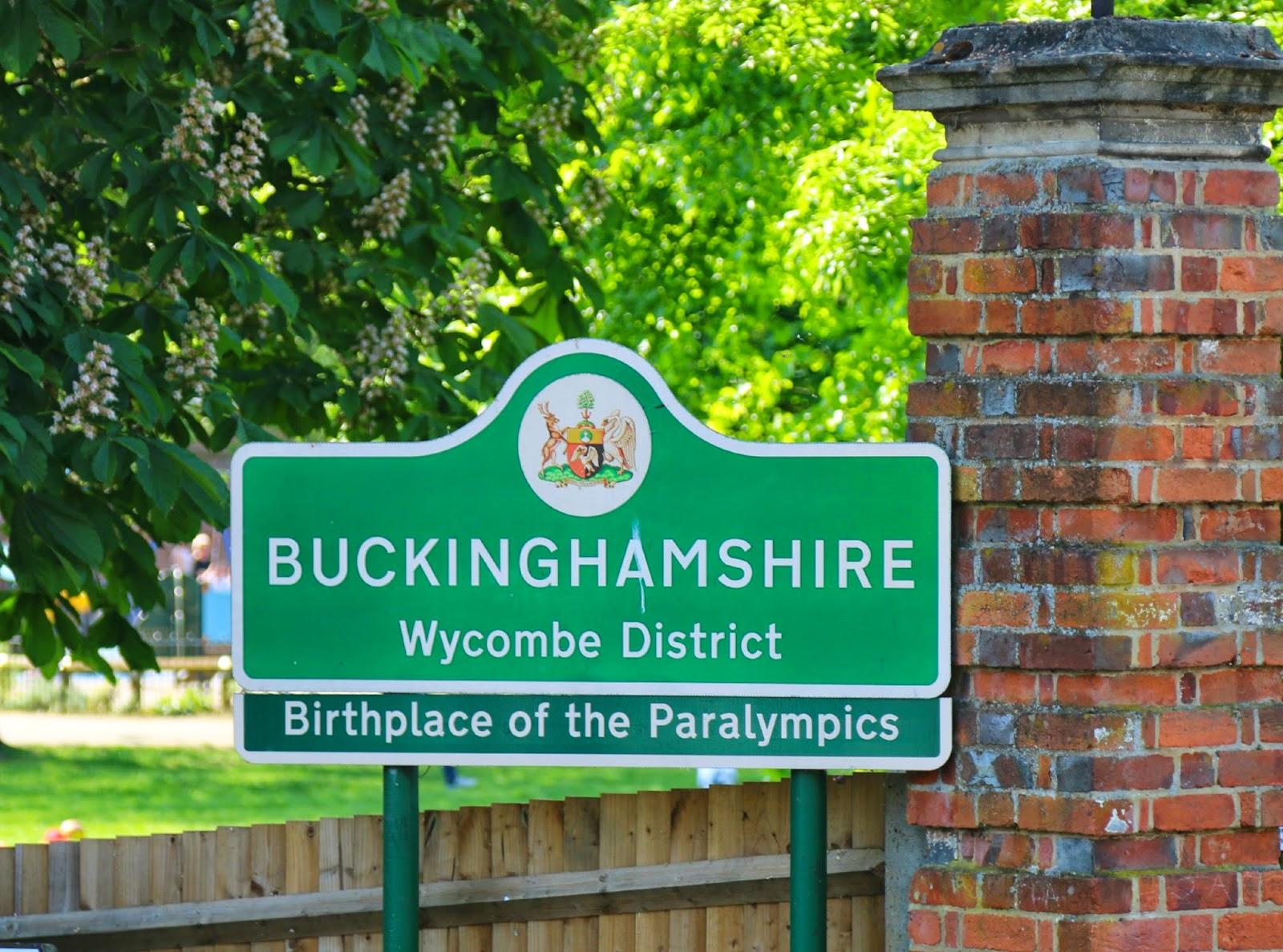 Buckinghamshire sign