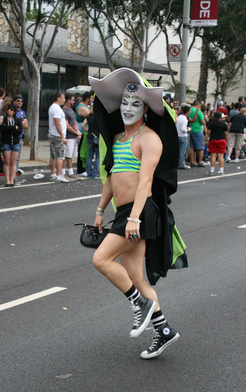 Skipping Sister of Perpetual Indulgence