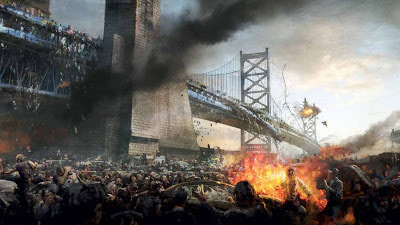 "Un'immagine tratta dal volume ""World War Z: The Art of the Film"""