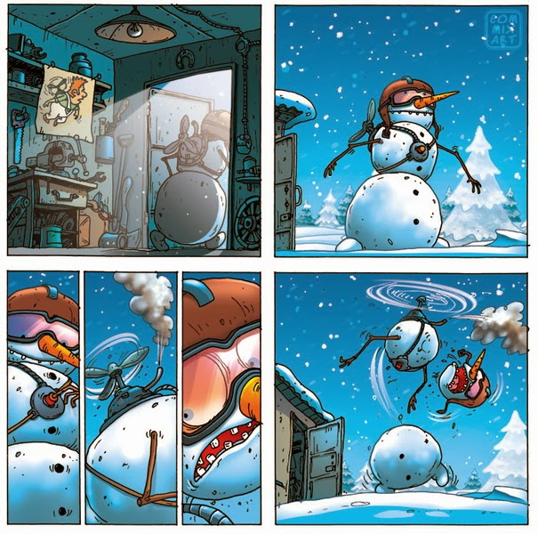 Снеговик карлсон