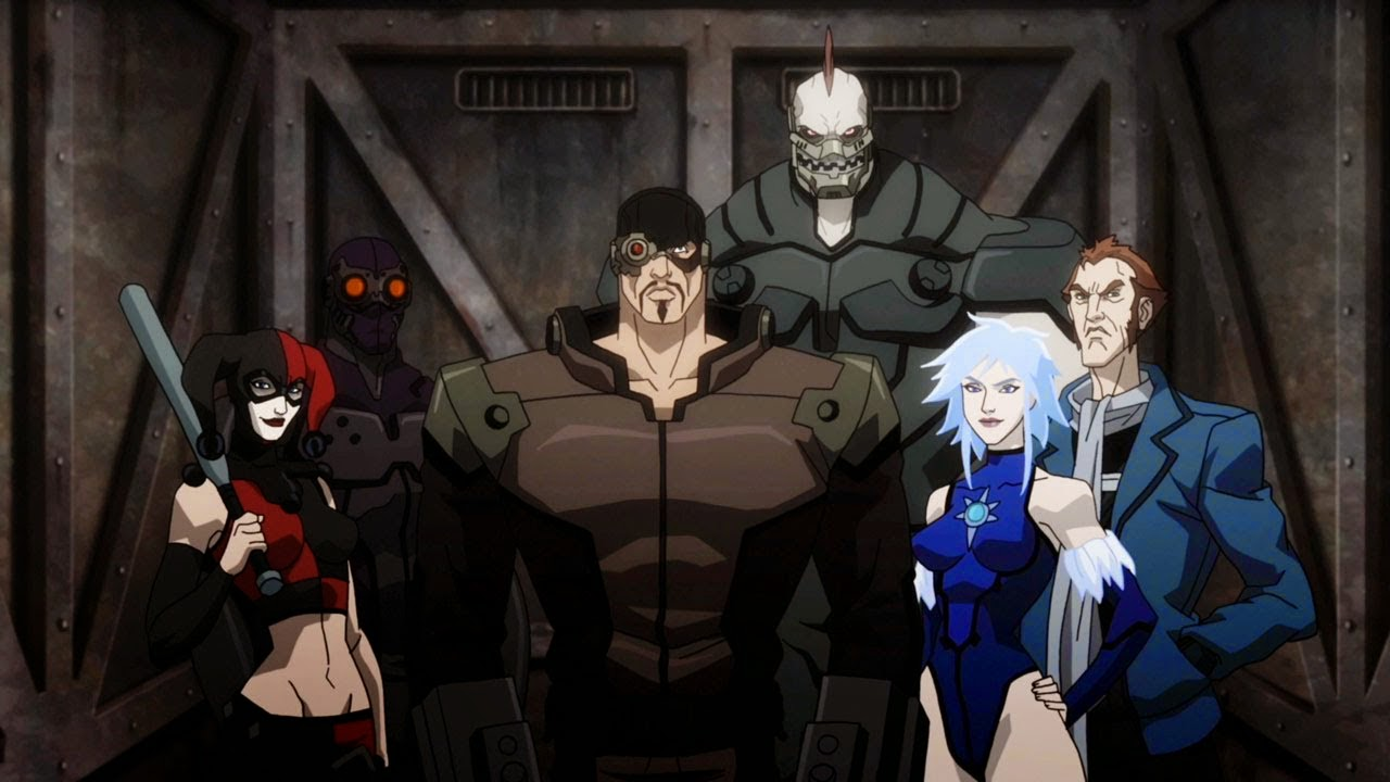 characters in Batman: Assault on Arkham cast