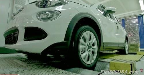 Fiat 500X Dynamometer Test