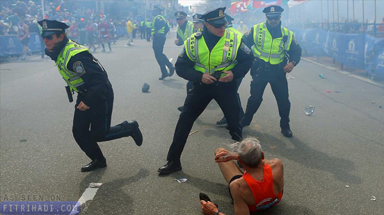 video letupan boston marathon explosion