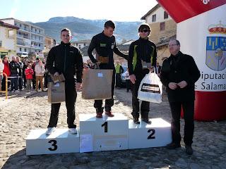 Los Ganadores del I Cross por Montaña Villa de Candelario Salamanca