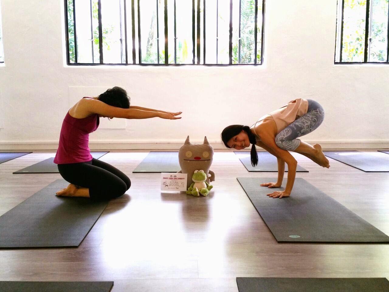 duck pose vs crow pose yoga