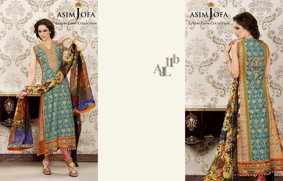 Asim Jofa new summer lawn 2015 collection