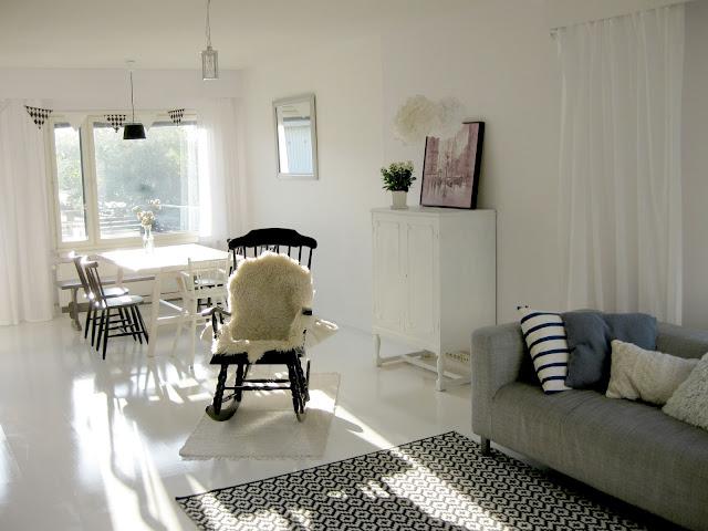 valkoinen koti