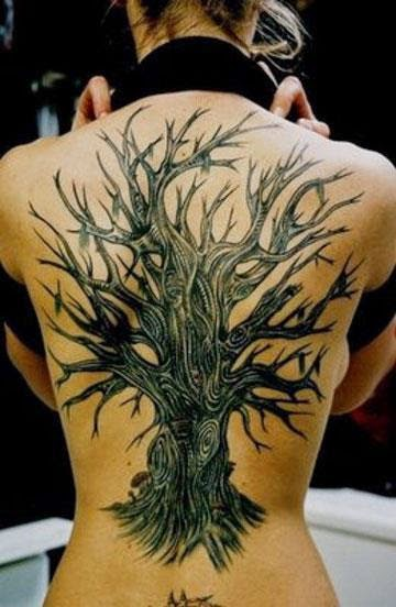 ♥  ♫ ♥ Tattoo For Girl On Back  ♥  ♫  ♥