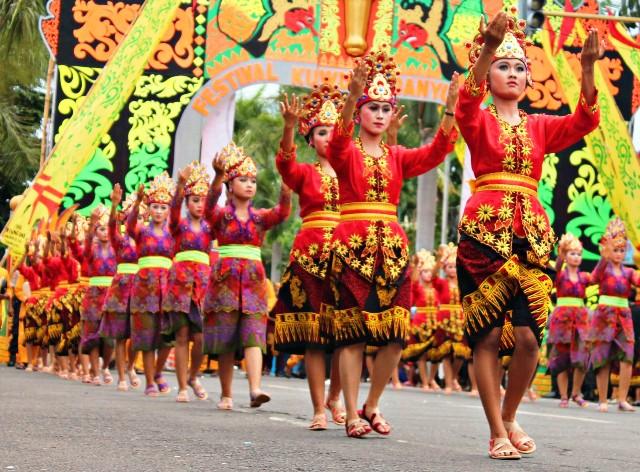 Festival Kuwung Banyuwangi.